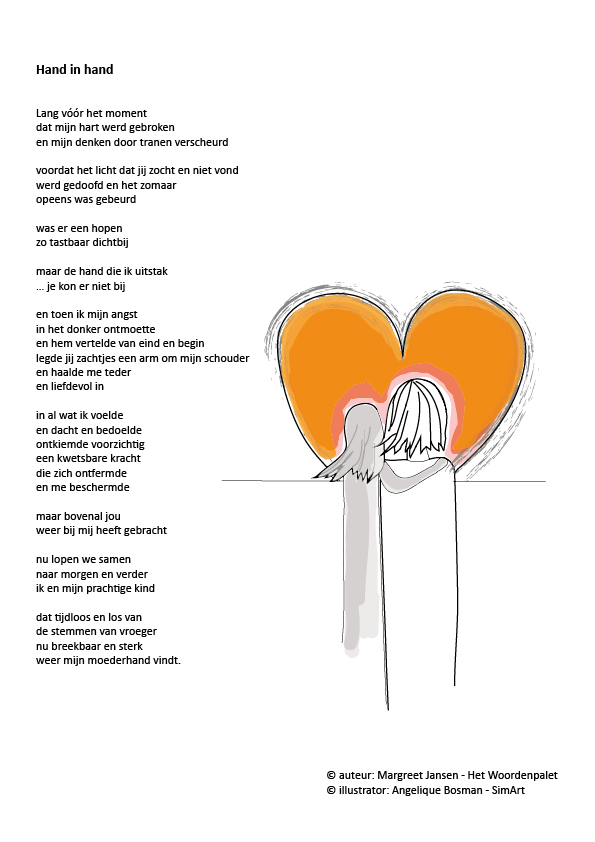 Top illustratie & gedicht – SimArt @LC64