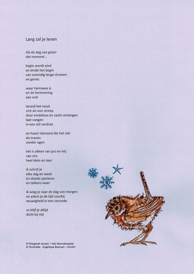 Illustratie Amp Gedicht Simart